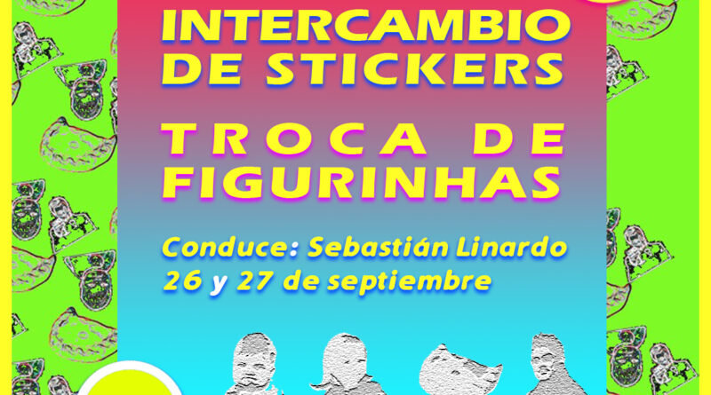 Jornada de intercambio de stickers
